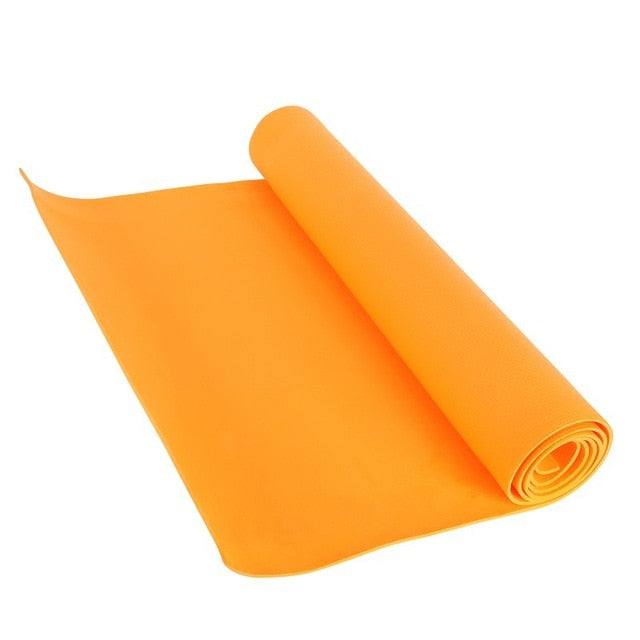 Non-slip Fitness Slim Yoga Mats - spree retail