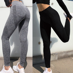 Seamless High Waist Yoga Leggings - spree retail