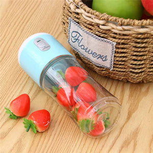 Portable Size USB Electric Fruit Juicer Handheld Smoothie Maker Blender_ Rechargeable Mini Portable Juice Cup Water 35W