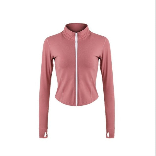 Mandarin Collar  Warm Fleece Jacket - spree retail