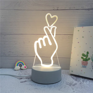 Creative 3D LED Night Light - spree retail