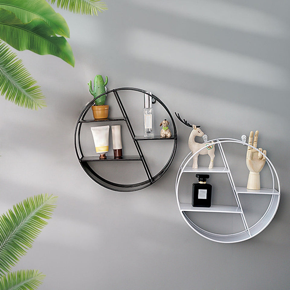 wall Decoration Potted ornament holder rack