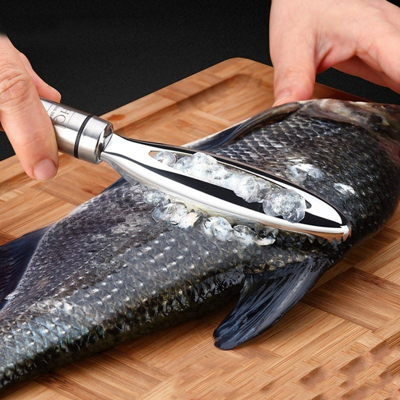 Fish Cleaning Peeler Scraper Fast Remove
