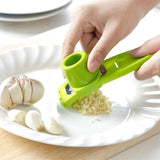Stainless Steel PP Garlic Presses Ginger Cutter