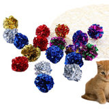Artificial Colorful Cat Teaser Toy