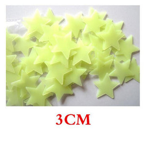 3D DIY Stars Moon Stickers Home Decoration
