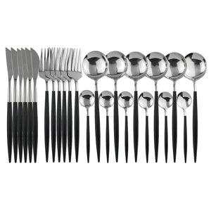 Stainless Steel Tableware Set Knife Fork Spoon