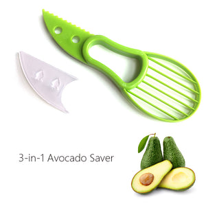 Avocado Slicer Shea Corer Butter Fruit Peeler Cutter  3-in-1