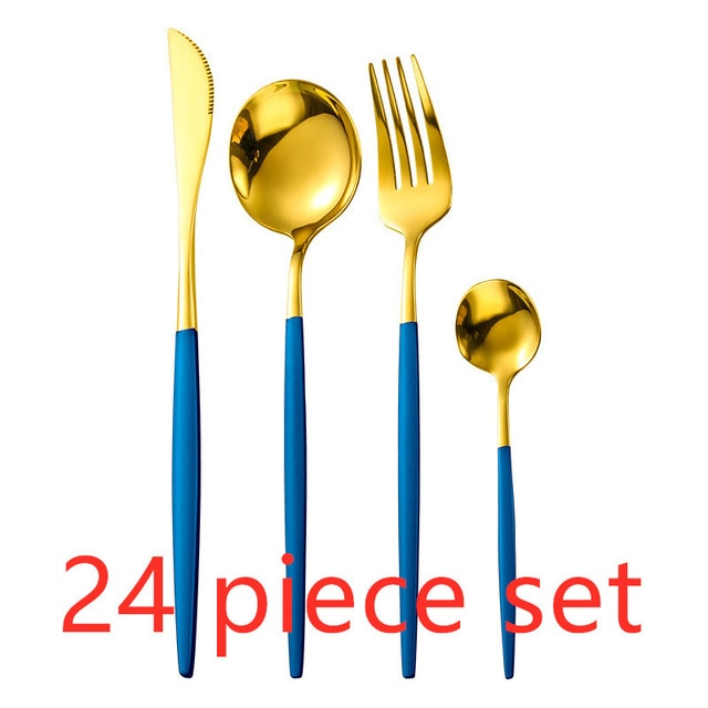 Gold Dinnerware Set