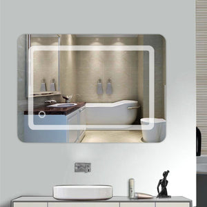 Bathroom Mirror Vanity Square Wall Mount