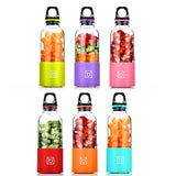 Portable Electric Juicer Cup USB Rechargeable Automatic Vegetables Fruit Juice Maker