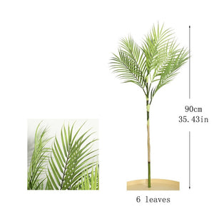 Palm Tree Artificial Leaves Branches - spree retail
