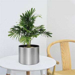 Simple Cylinder Flower Pot - spree retail