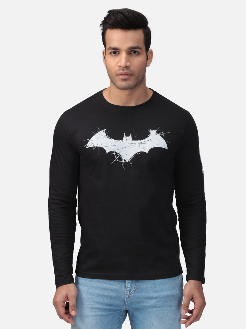 Batman: Logo Full Sleeve T-Shirt