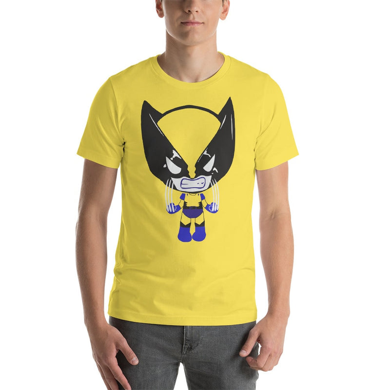 Angry Kid Wolverine Mens T-Shirt