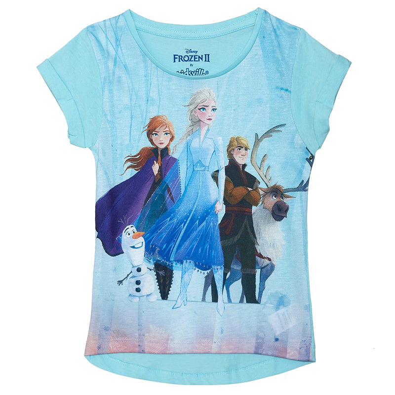 Frozen Blue Tshirt for Girls - STY-19-20-000025