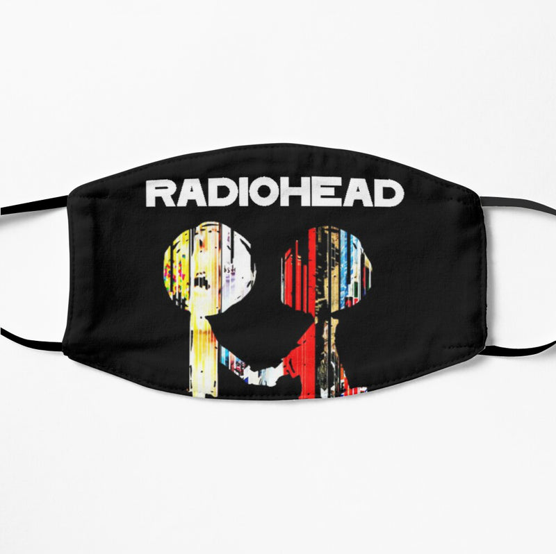 Printed Face Mask - Radiohead 2 Ply Cloth Mask