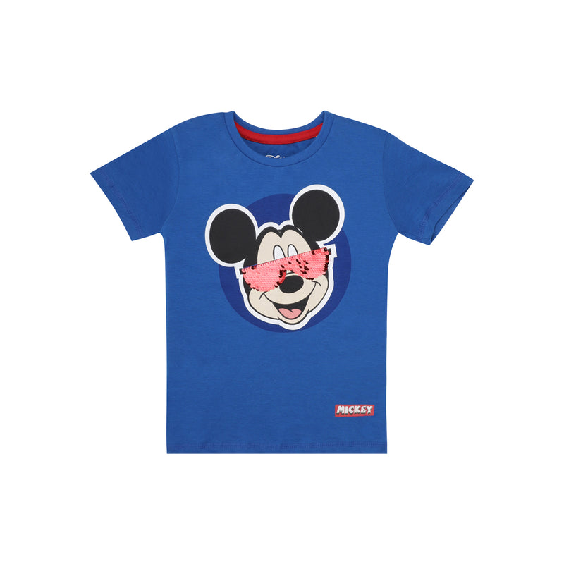 Mickey Mouse Blue T-Shirt for Boys