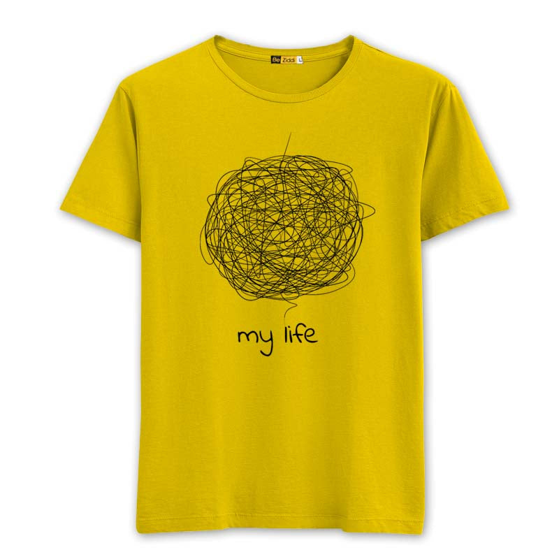Complicated Life T-Shirt - Sunrise yellow
