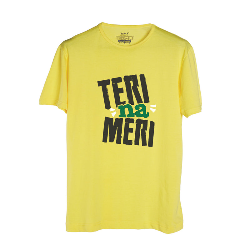 Teri Na Meri Yellow T-Shirt