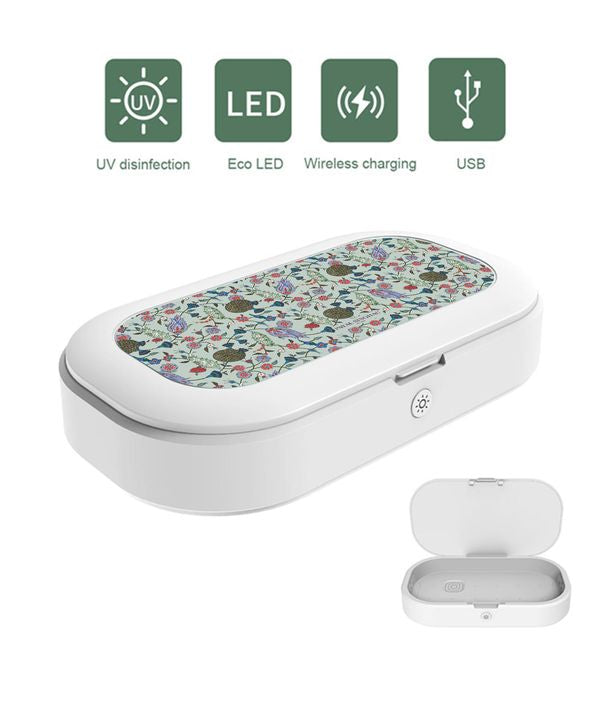 Turkish Iznik UV Sanitizer & Wireless Charger Pro