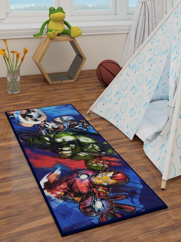 Marvel Avengers Runner Carpet 2ft x 4.5ft - DM67