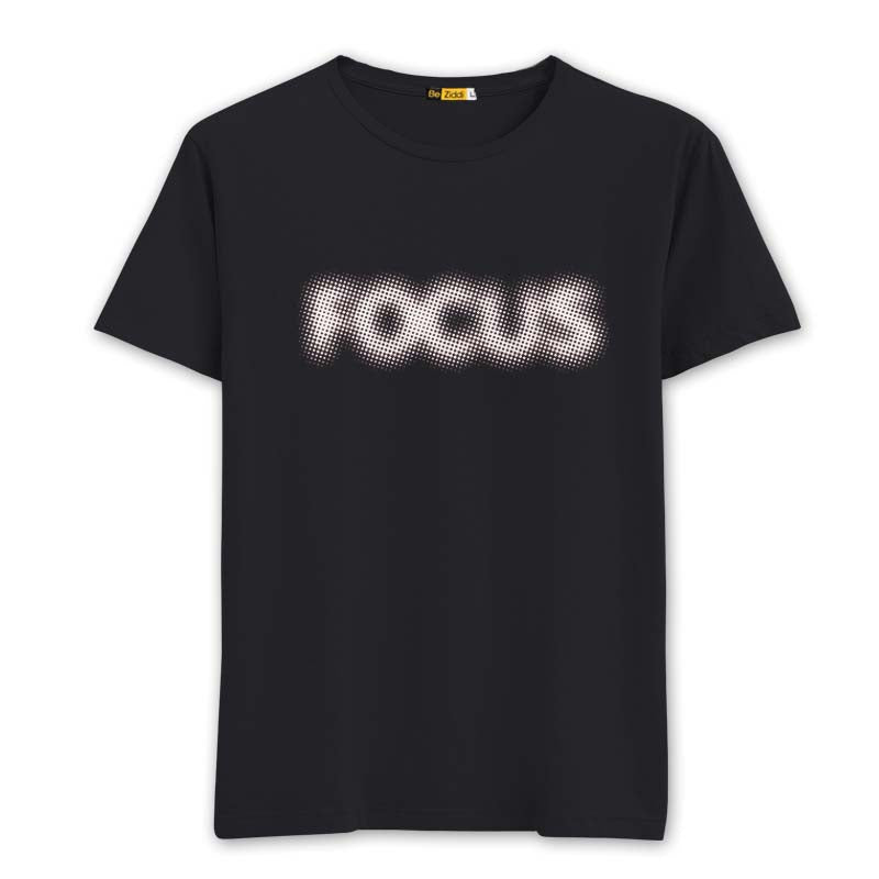 Focus Round neck T-shirt - Black