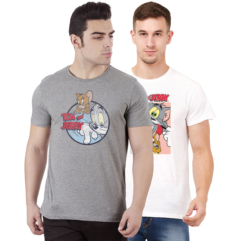 Tom & Jerry pack of 2 tshirts for Men - MTTNJ02