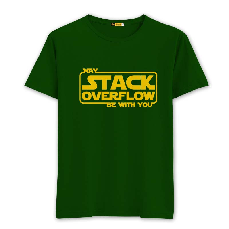 Stack Overflow Round neck T-Shirt