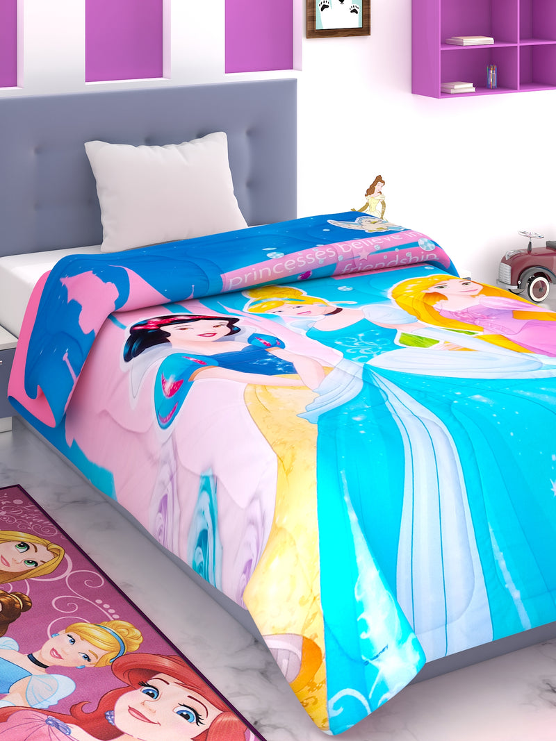 Disney Princess Kids Comforter 300 GSM 135x220 cm - 177