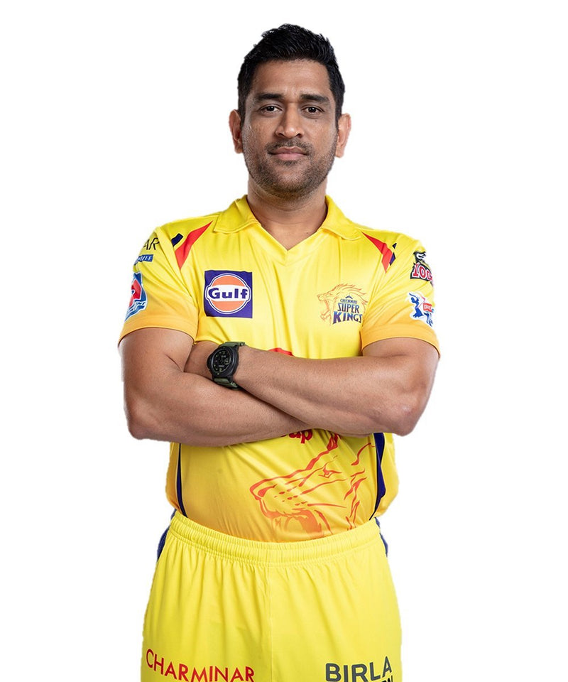Official CSK Replica Jersey 2020 - (Dhoni 7)