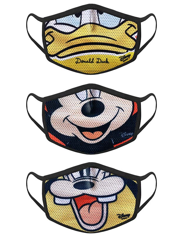 Mickey Mouse Family Mask Set (Ages 2-7)