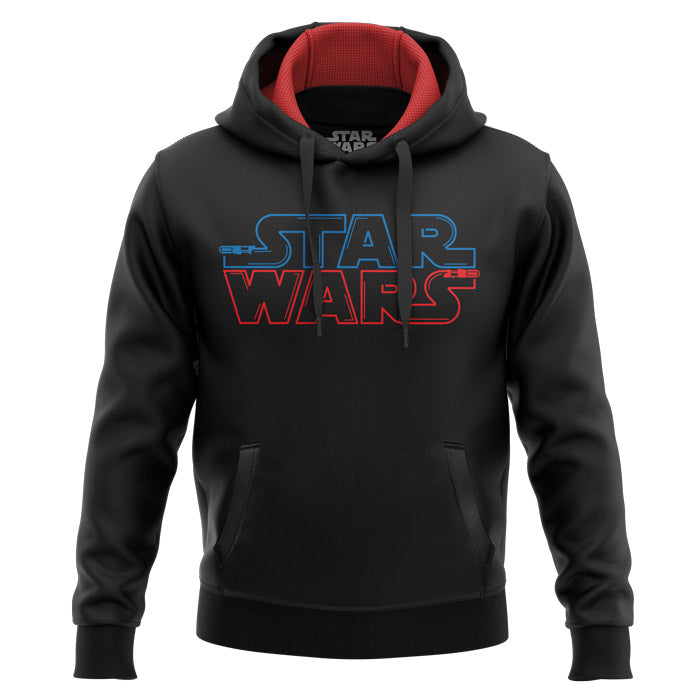 Star Wars- Saber Logo - Star Wars Official Hoodie
