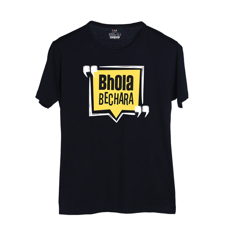 Bhola Bechara Black T-Shirt