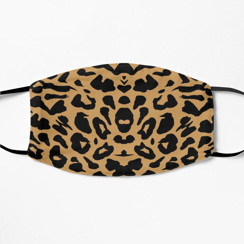 Printed Face Mask - Leopard Pattern 2 Ply Cloth Mask