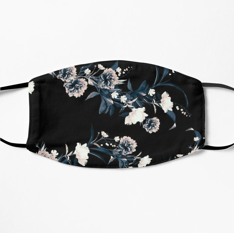 Printed Face Mask - Floral Print 2 Ply Cloth Mask