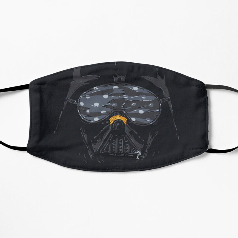Printed Face Mask - Gas Mask Design 2 Ply Cloth Mask