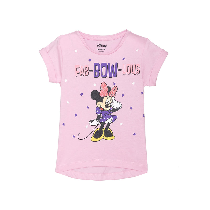 Minnie Mouse Purple Girls T-Shirt