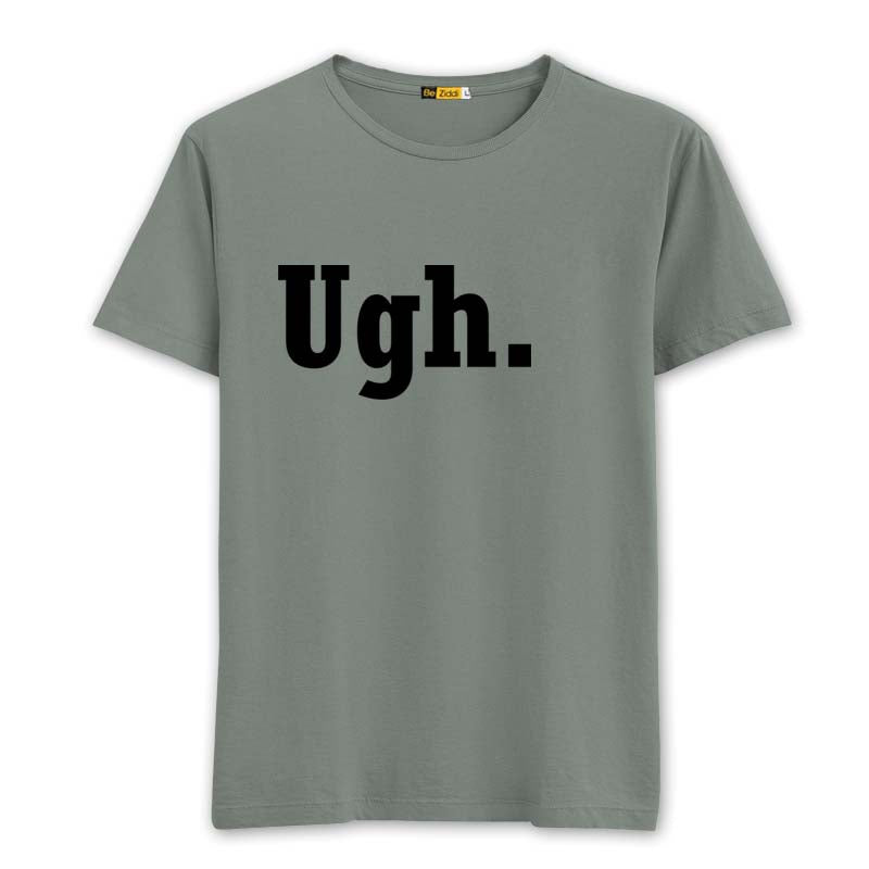 UGH Round neck T-shirt - Sage grey