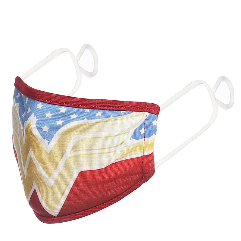Wonder Woman Printed Red Mask For Women - 534