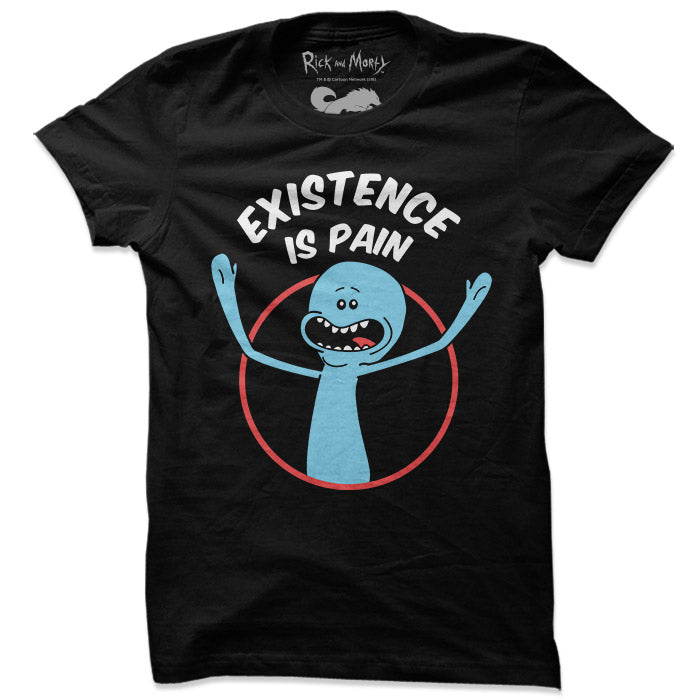 Mr. Meeseeks: Existence Is Pain - Rick And Morty Official T-shirt