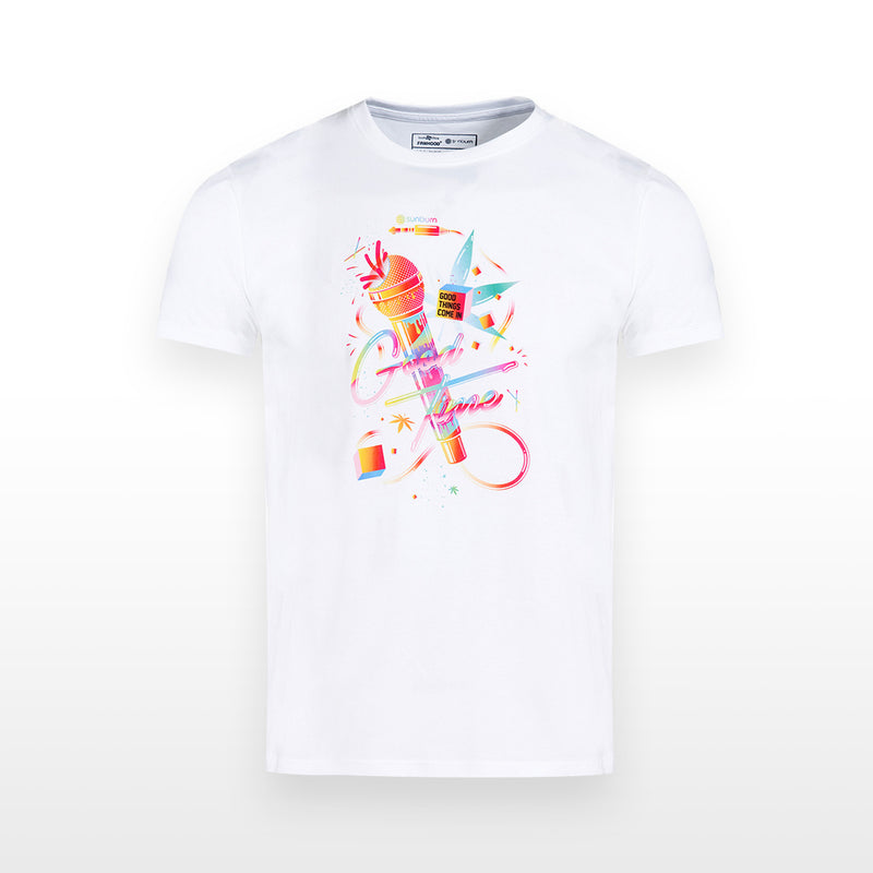 Sunburn : Good Time T-Shirt - White