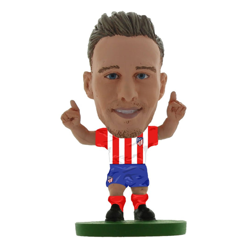 Saul Niguez - Atletico Madrid - Home Kit (Classic Version) Figure by Soccer Starz