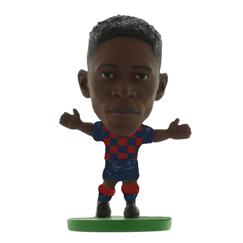 Ousmane Dembele - Barcelona - Home Kit (2020 Version) Figure by Soccer Starz