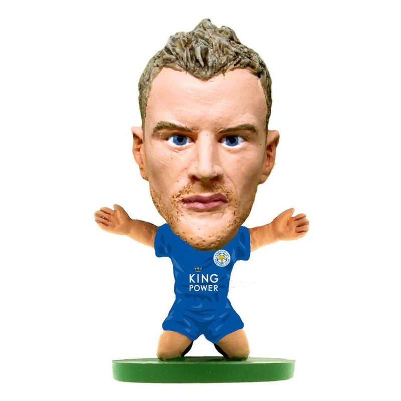 Jamie Vardy - Leicester - Home Kit (Classic Version) Figure by Soccer Starz