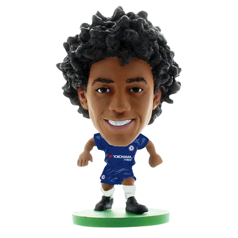 Willian - Chelsea - Home Kit (2020 Version) Figure by Soccer Starz