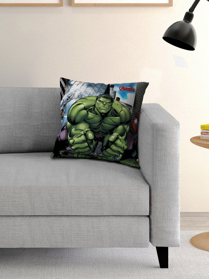Marvel Hulk Filled Cusion with Cover 16x16 inches - e41