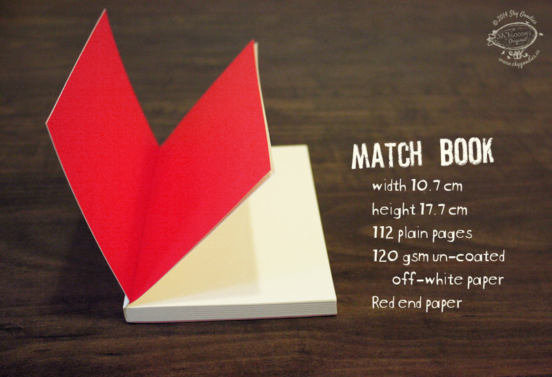 Match Book Notebook - STAR