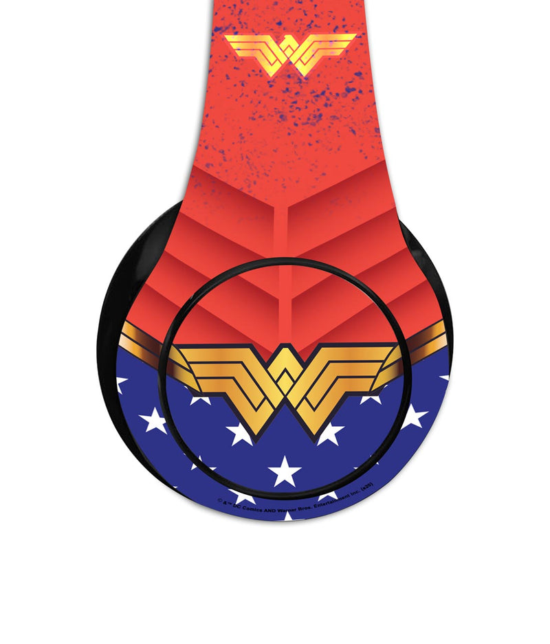Suit up Wonder Woman - Decibel Wireless On Ear Headphones