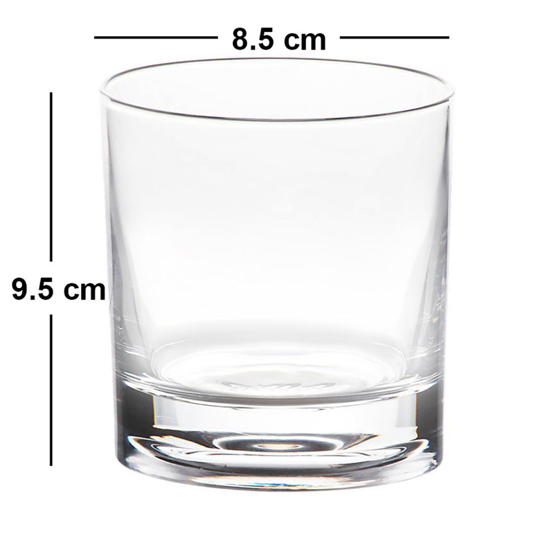 Daaru Peene Se Himmat Aati Hai Whisky Glass - Set of 2